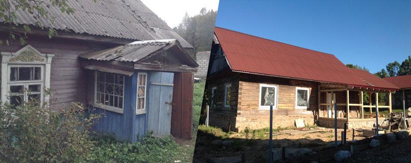 Rekonštrukcia dedinského domu